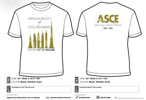 ASCE-UCF 2014-2015 Men's Shirts