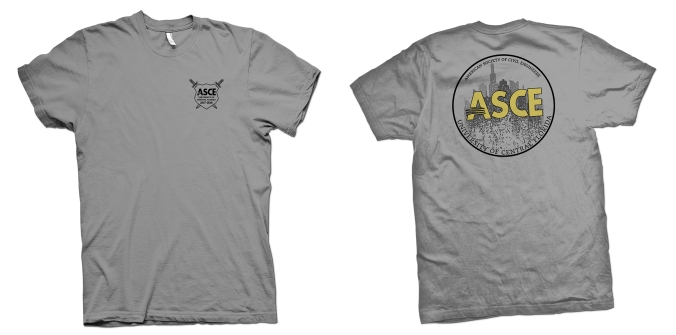 UCF - ASCE - Shirt - PROOF